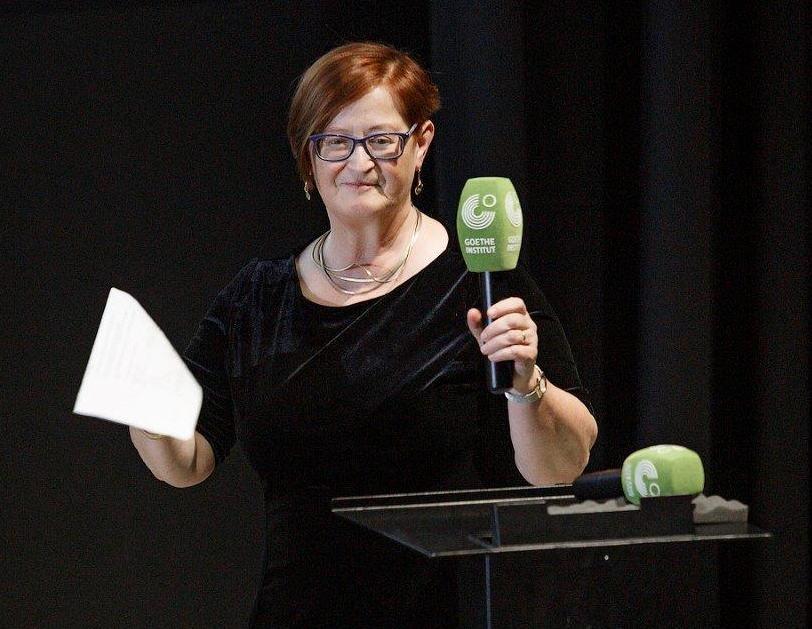 Moderation Prof. Ruth Leiserowitz in Vilnius Goethe Institut